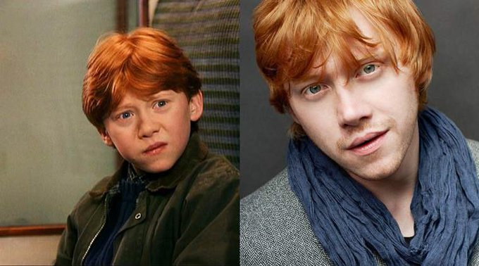 Happy 30th Birthday to Rupert Grint! The actor who played Ron Weasley in the Harry Potter movies.