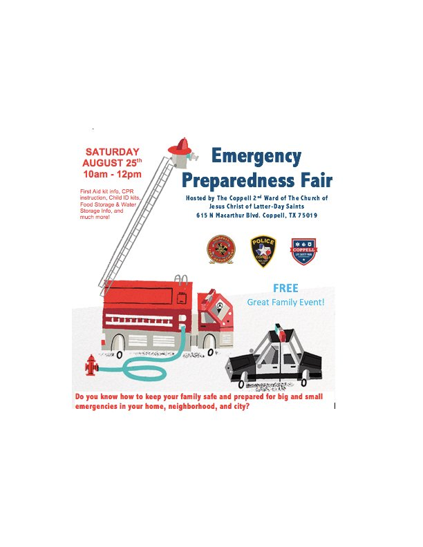 Weu0027ll Have Goodies For The Kiddos And They Can Check Out A Squad Car. The  Fair Goes From 10 A.m. 12 P.m., At 615 N. MacArthur Blvd. #BackTheBlue ...