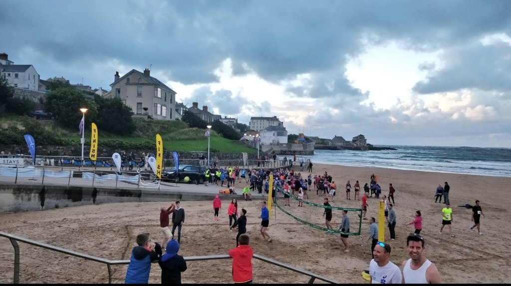 Cracking #5miler in #Portrush this evening! Some stunning views on way back in to town too!