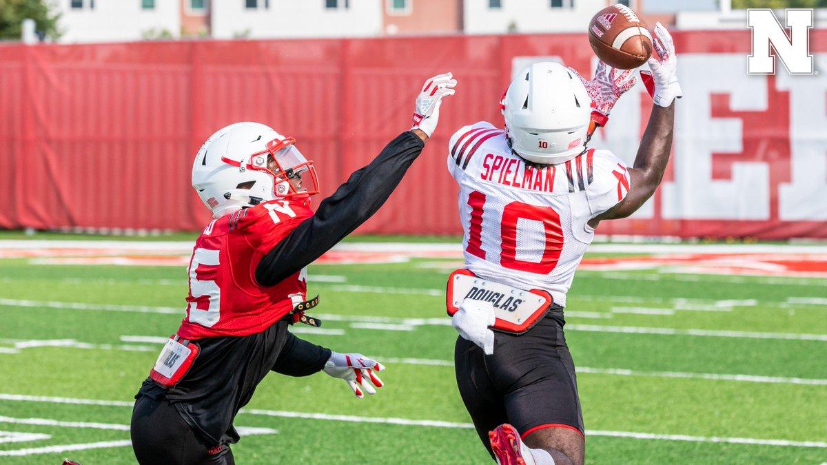 Spielman catch in Friday's practice