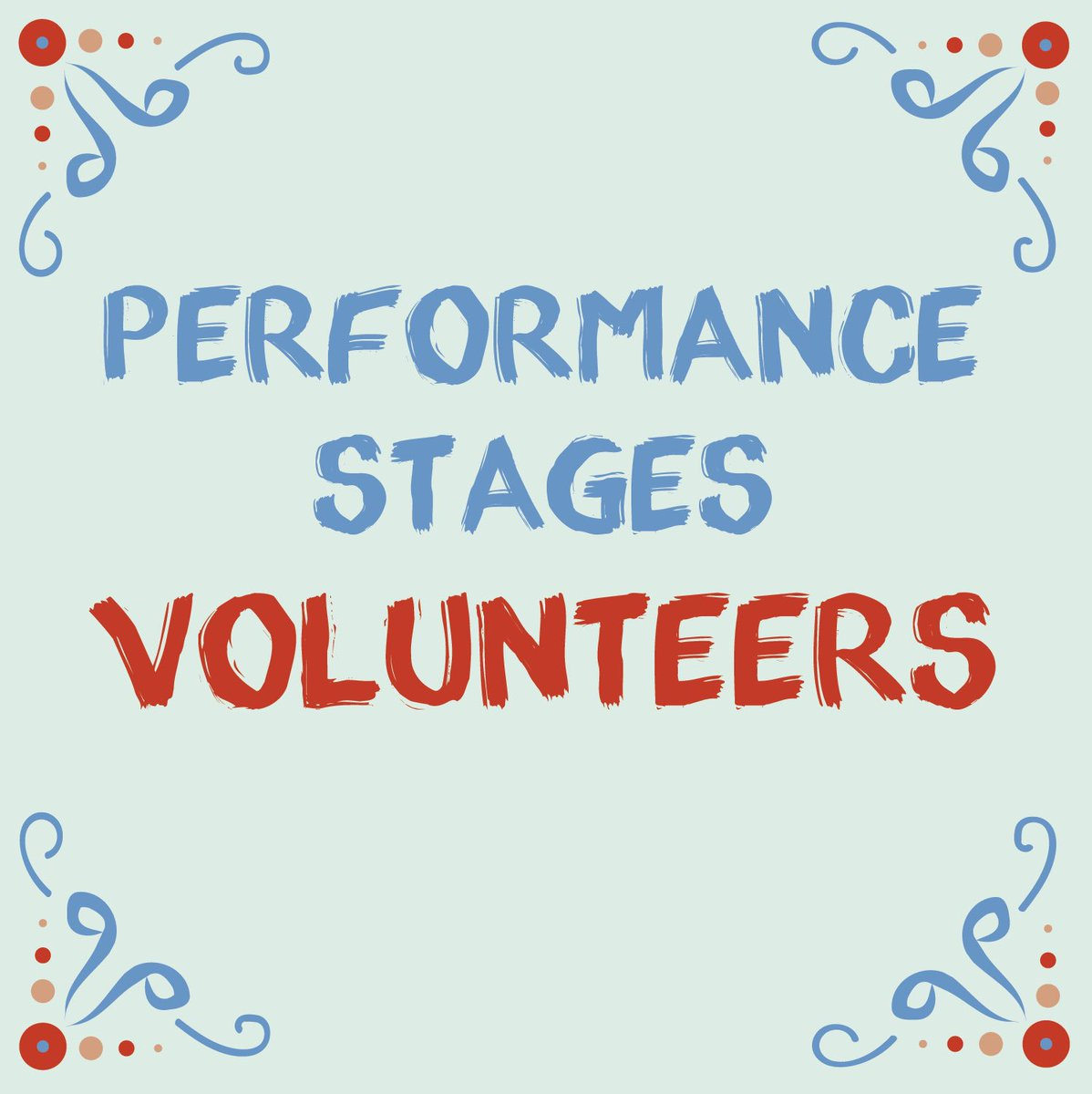 This is a call for Volunteers! We are asking for your help to assist the stages during the fair! Your job would be to announce the performers & help monitor the stages. If you are interested in becoming part of the SLAF team, sign up today! ❤️ #callforvolunteers #stlartfair