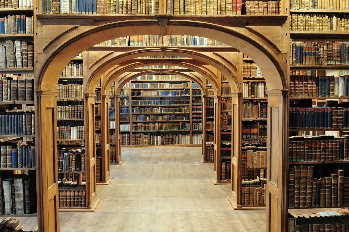 One of the world's most beautiful libraries, the Upper Lausitzian Library of Sciences in Görlitz, Germany holds several treasures and rarities including numerous magnificent incunabula featuring art by printers in the time of Gutenberg. https://buff.ly/2AhZHMB