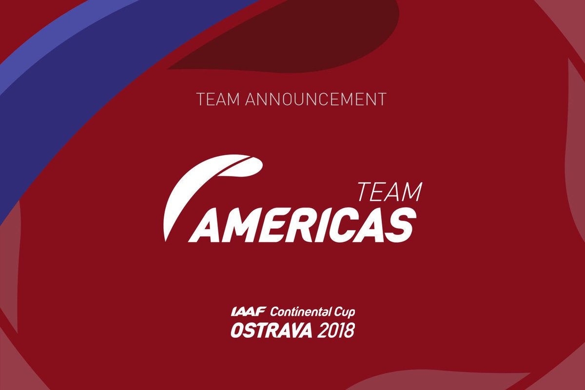 Image result for iaaf continental cup ostrava americas team