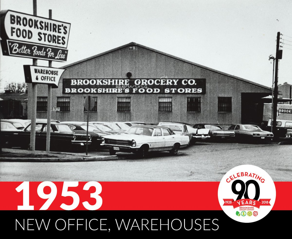 Brookshires On Twitter In 1953 Brookshire Grocery Company Opened