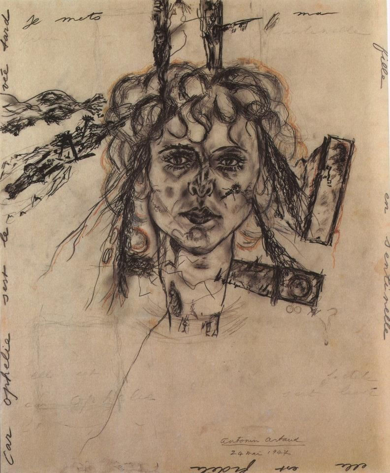 Blackout On Twitter Antonin Artaud Works On Paper The Museum Of Modern Art Full Book Pdf The Human Face Is An Empty Power A Field Of Death The Old Revolutionary Claim To