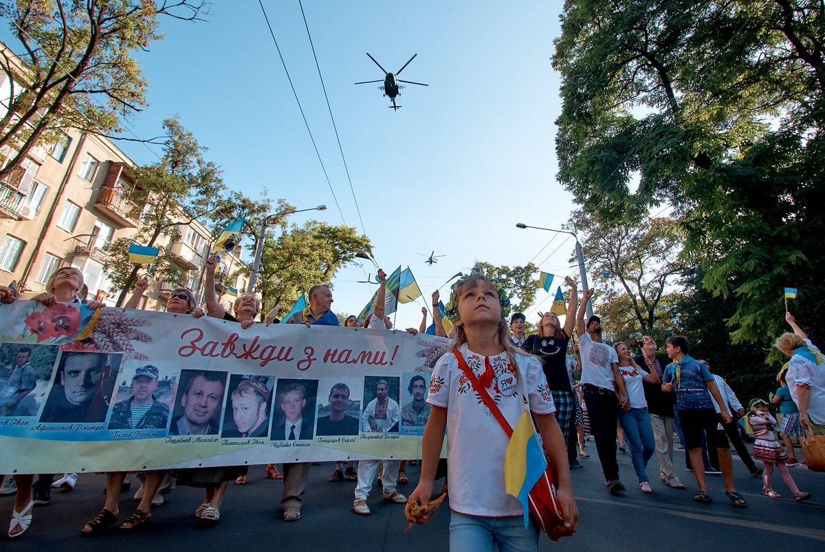 У річницю незалежності України слід пам'ятати насамперед тих, хто поліг за неї в бою, - Ярош - Цензор.НЕТ 2147