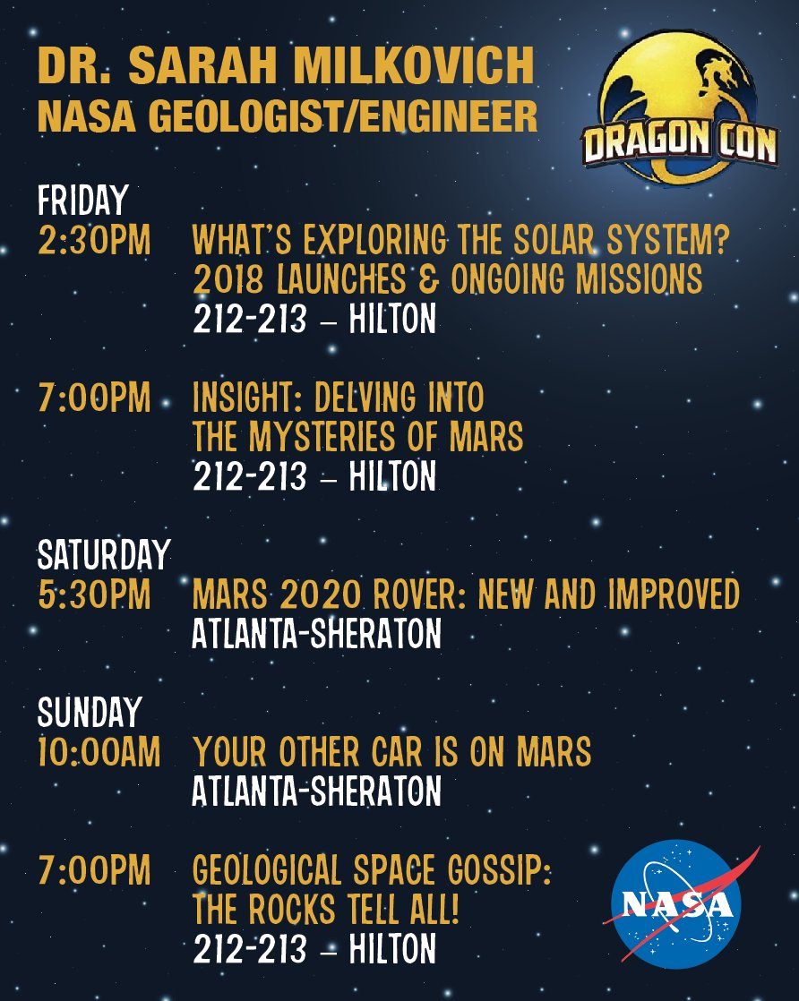 Dragoncon 2020 Schedule Dr. Sarah Milkovich on Twitter: