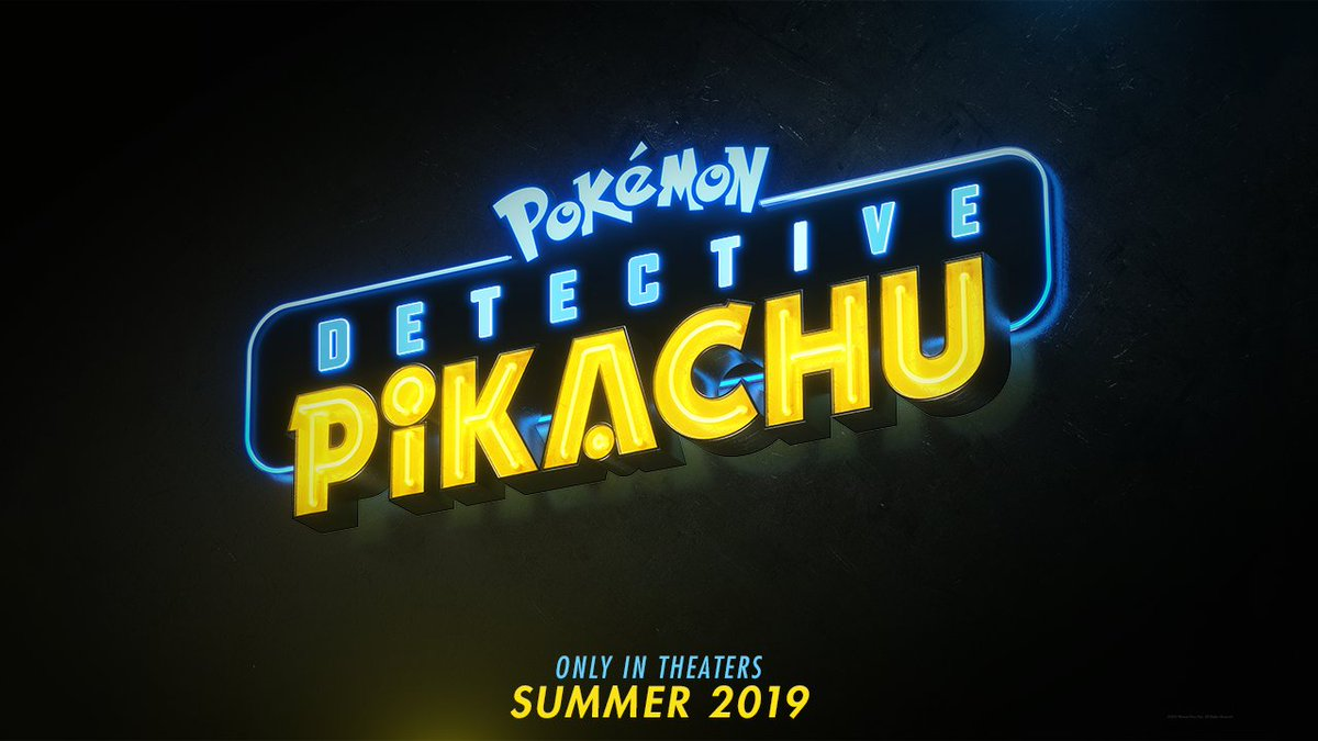 "tweet-'Detective Pikachu' will premiere in May 2019. Rob Letterman, the film's director, took to the stage at Worlds and asked attendees to chant ""Pi-ka-chu"" or ""Char-i-zard"" as ADR for a Pikachu vs. Charizard battle in the film. He is working closely with TPCi and Pokemon's creators. https://t.co/23w5TvXn2W"