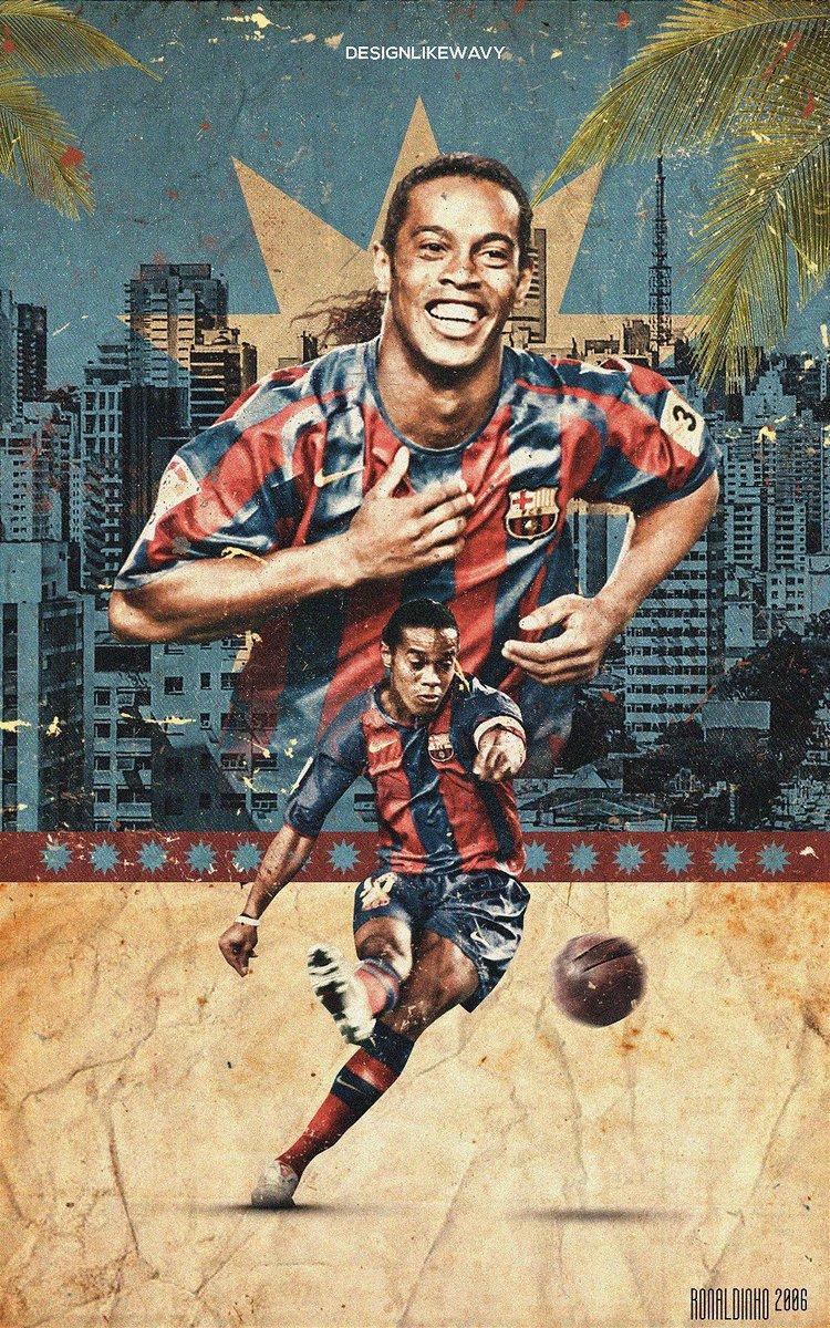 Barcacentre On Twitter Wallpaper Ronaldinho