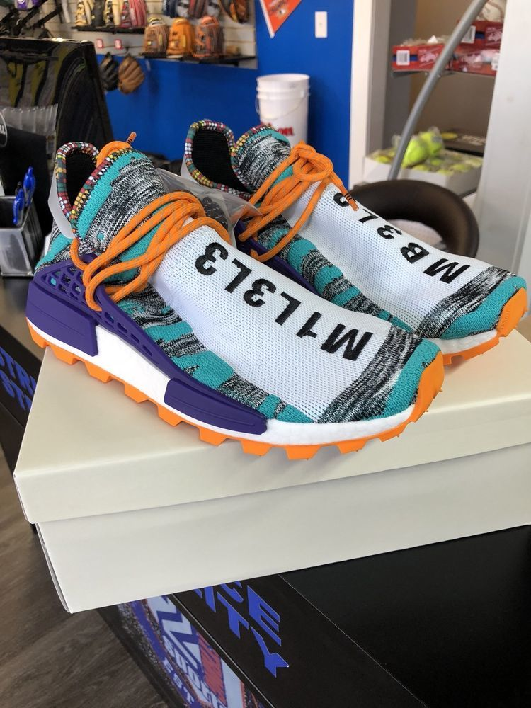 de158bf91 Adidas Pharrell Williams Solur Hu NMD - New Release - M1L3L3 Solar Pak 11 US  DS