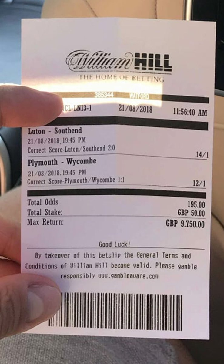 Fake winning betting slip connecticut off track betting hours