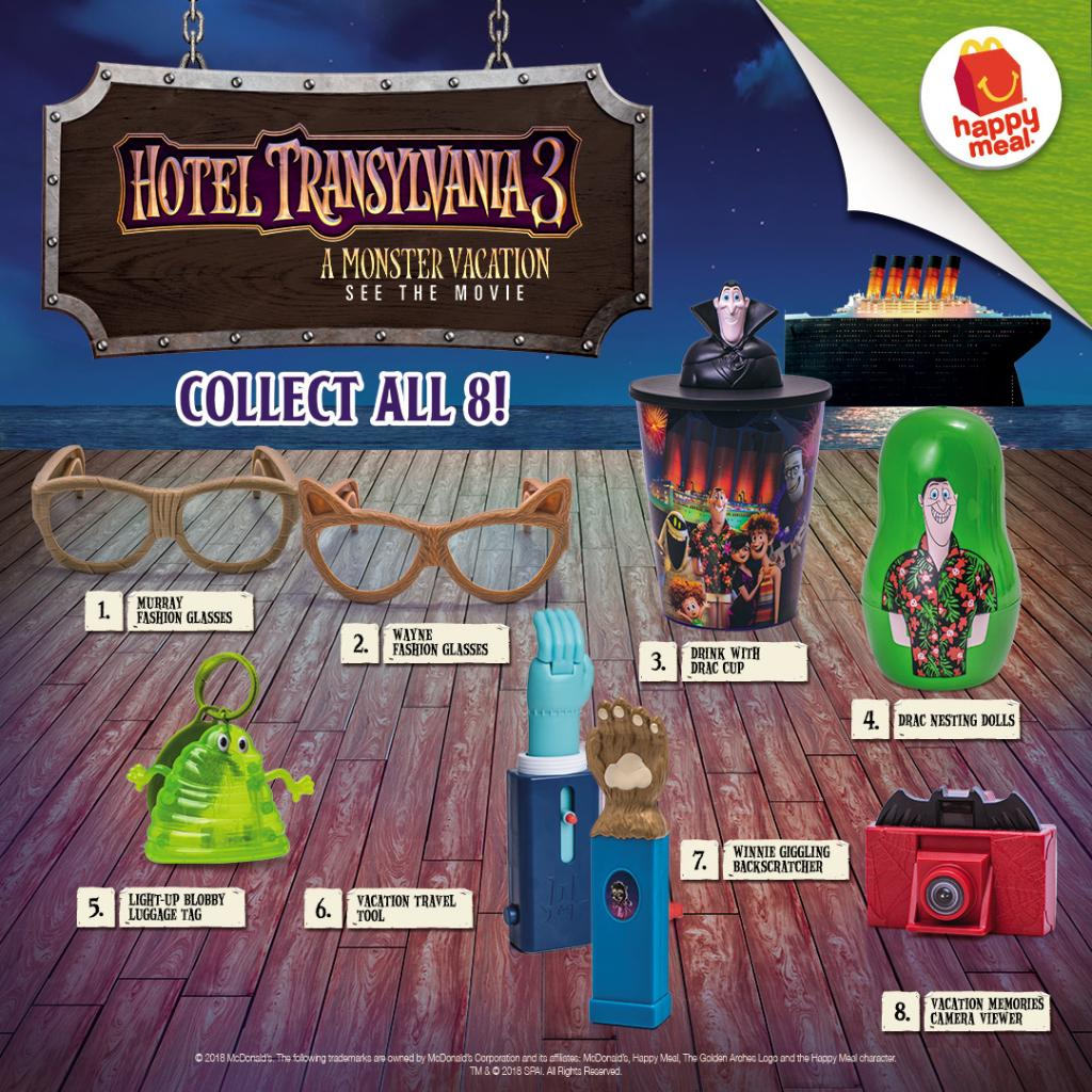 Good Time With These 8 New Hotel Transylvania Toys Get One Every Happy Meal Order Now Via Mcdeliveryph Pictwitter Hi3n3R8nOJ