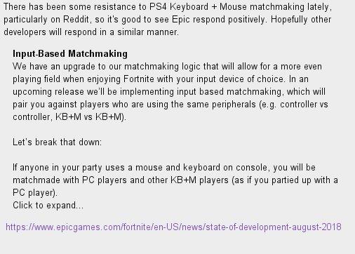 Fortnite Ps4 Keyboard And Mouse Reddit | Fortnite Mobile Mod