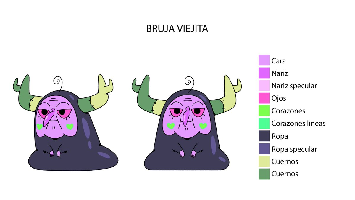 Ivanobich Verduzco On Twitter Witch Designs From Episode 4 Of