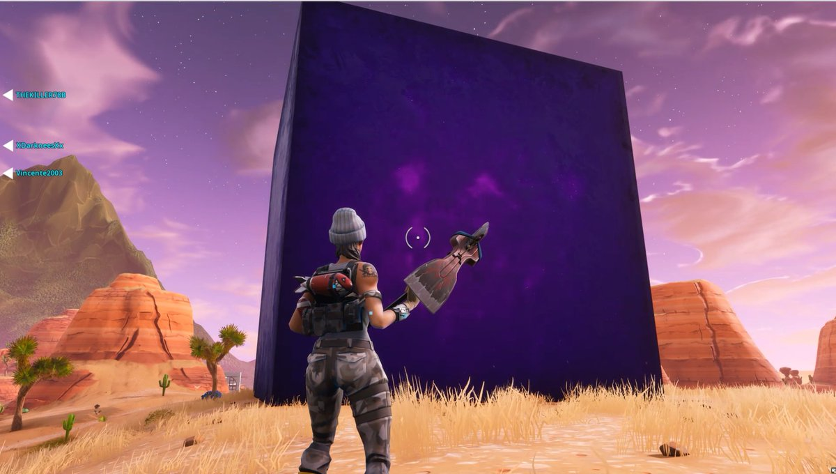 The Mysterious Giant Fortnite Cube Is Moving