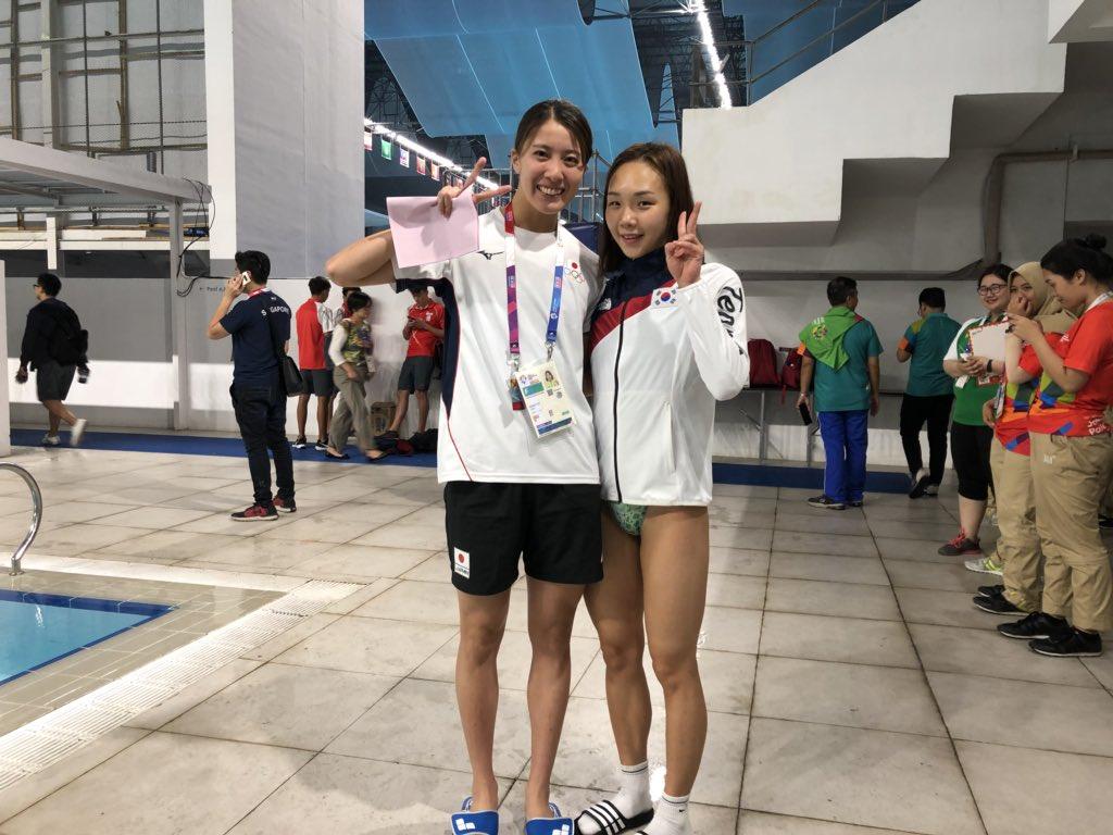 大橋悠依 次は負けたくない! あと700日。 #Asiangames2018pic.twitter.com/ywQn7d4qNA