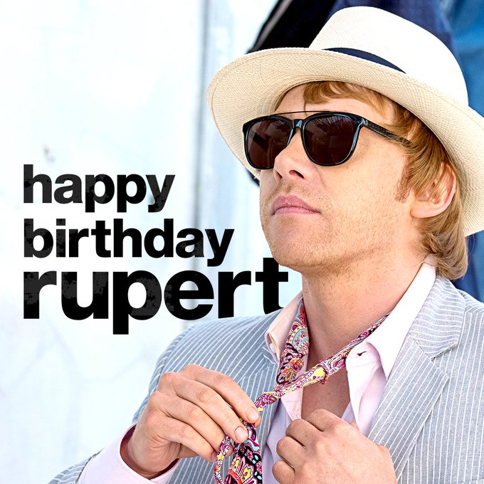 Happy Birthday to one Hill of a guy! Catch Rupert Grint in Season 2 of September 13 on