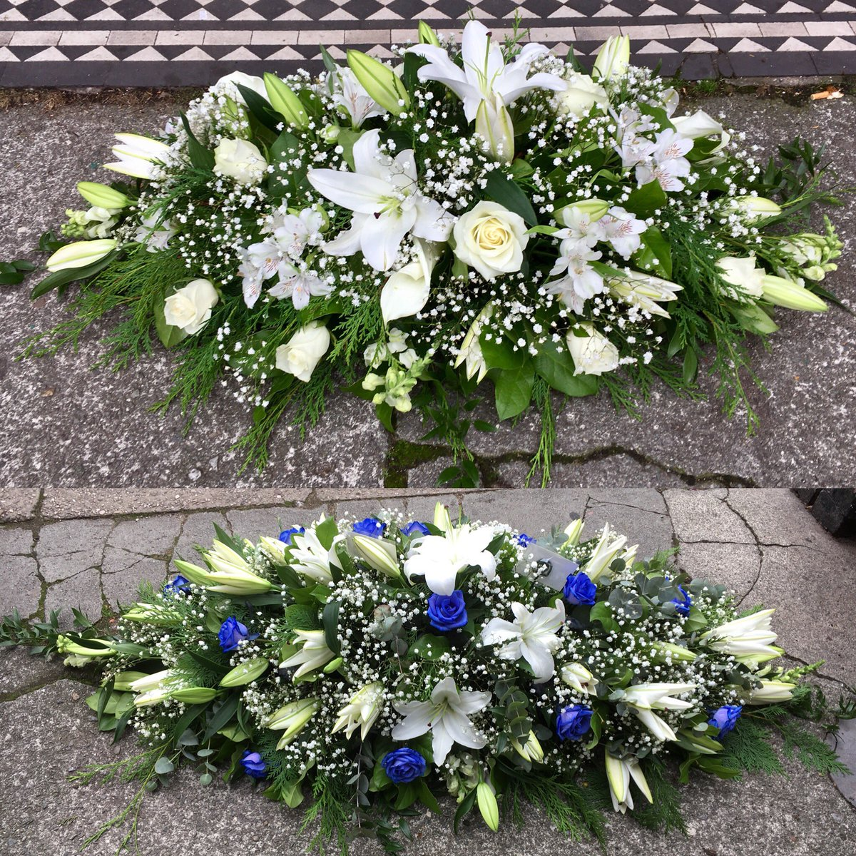 Funeralflowers hashtag on twitter i offer free home visits for those who would prefer a private consultation 01512599393 bouquetboutiqueliverpool liverpoolflorist funeralflowers tributes izmirmasajfo