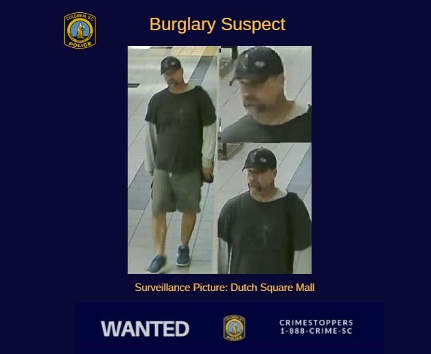 Dutch Square Mall >> Columbia Police Dept On Twitter Crimestoppers Can You Help Us