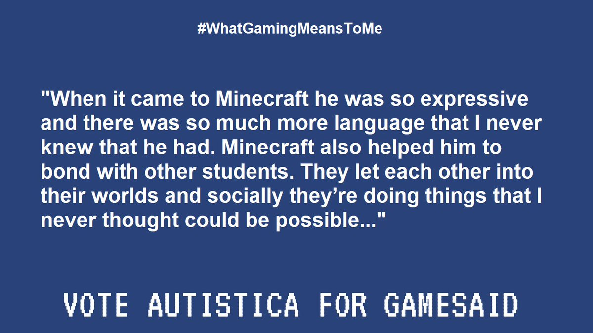 autistica on twitter reason 7 voting for autistica is not just