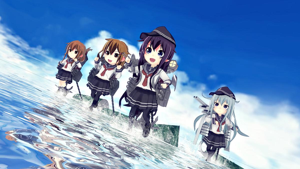 神楽 En Twitter 遠征任務 再放送中の艦これ アニメ を見て 6話