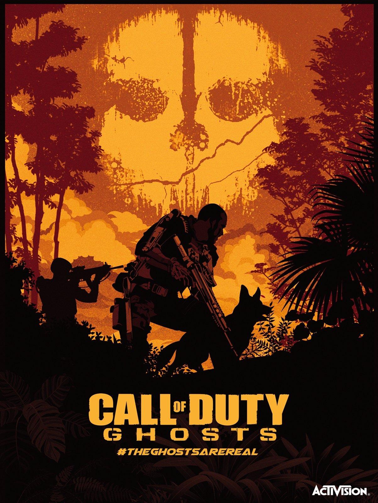 Posterspy Com On Twitter Call Of Duty Ghosts Poster Art Uploaded By Handykara Https T Co 6eprj31fo9