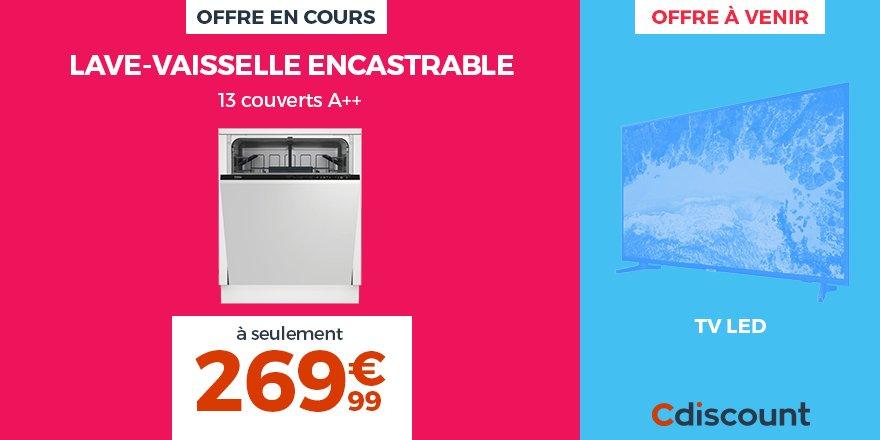 Cdiscount On Twitter Offre En Cours Lave Vaisselle