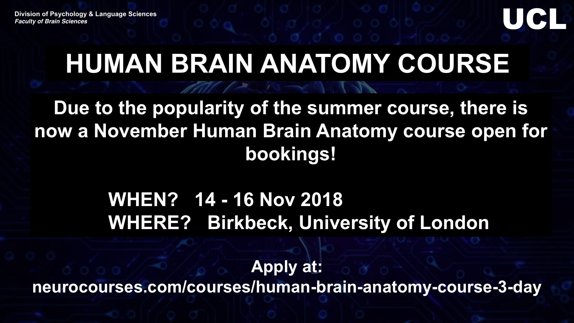 UCL Psych & Lang Sci on Twitter: \