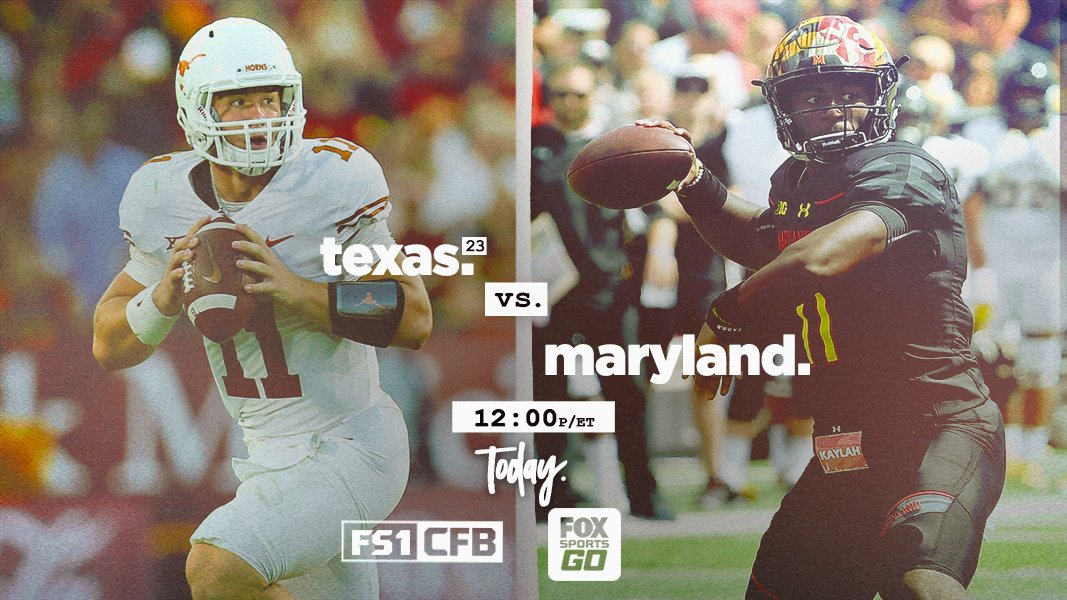 Fox College Football On Twitter Its A Rematch At Texasfootball