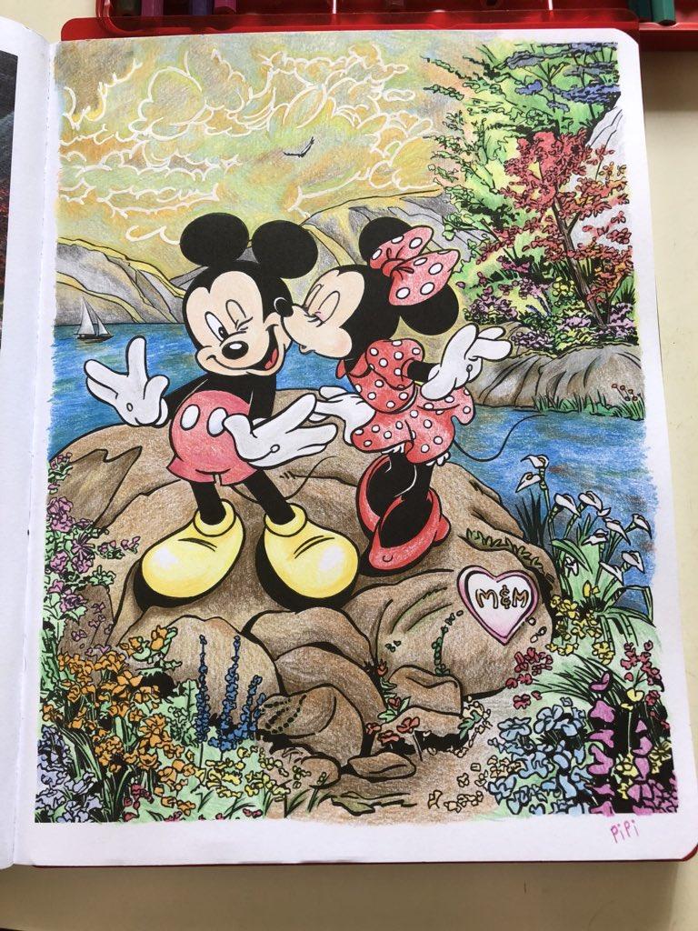 Thomas Kinkade Disney Coloring Book Admirable Disney Dreams