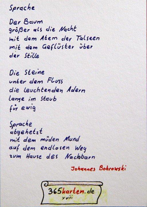 365karten على تويتر Baum Steine Sprache Johannes