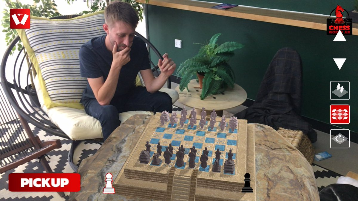 Chess World AR on Twitter: