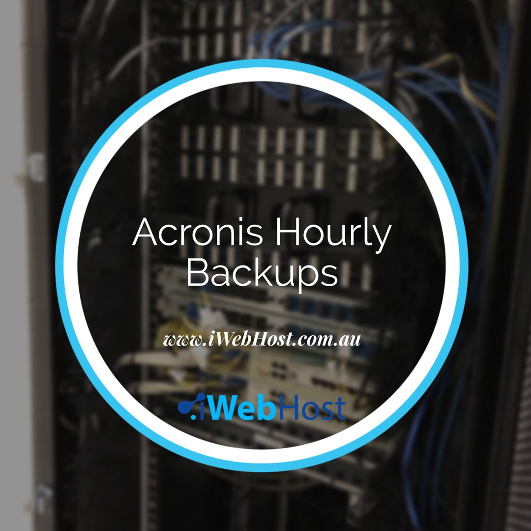 web hosting backups