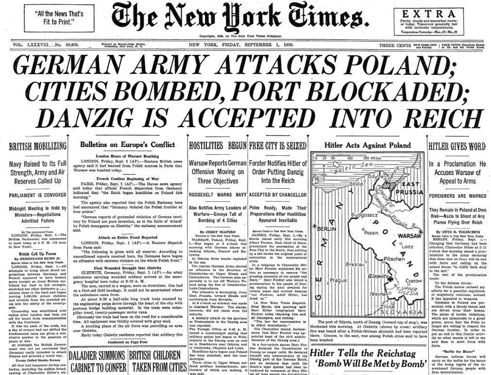 Image result for NEW YORK TIMES GERMANY POLAND