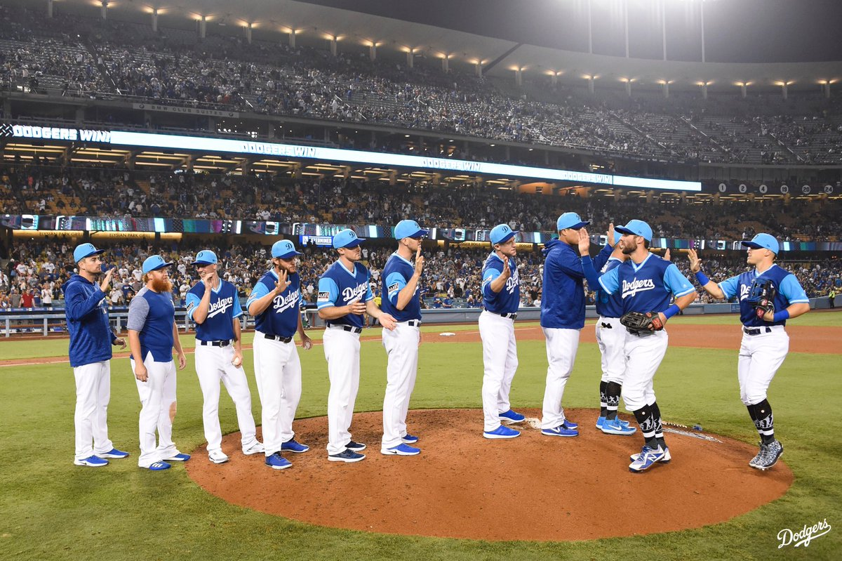 eb2cc1eff30494 Los Angeles Dodgers on Twitter: