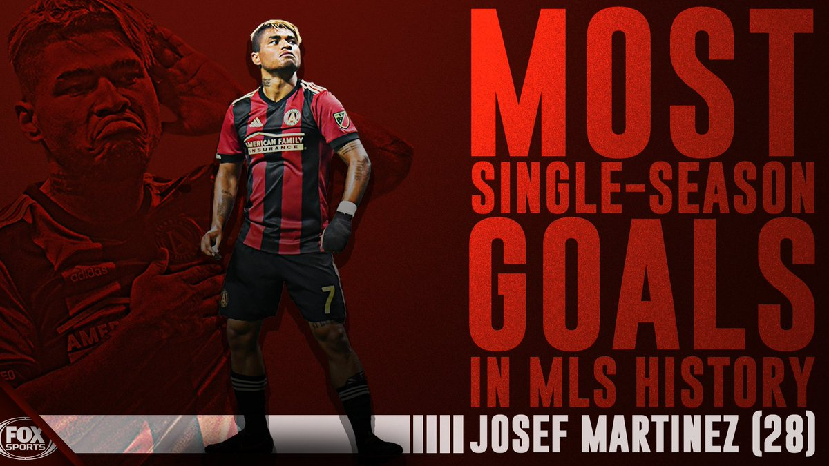 "fox soccer on twitter: ""history! josef martinez sets the new single"
