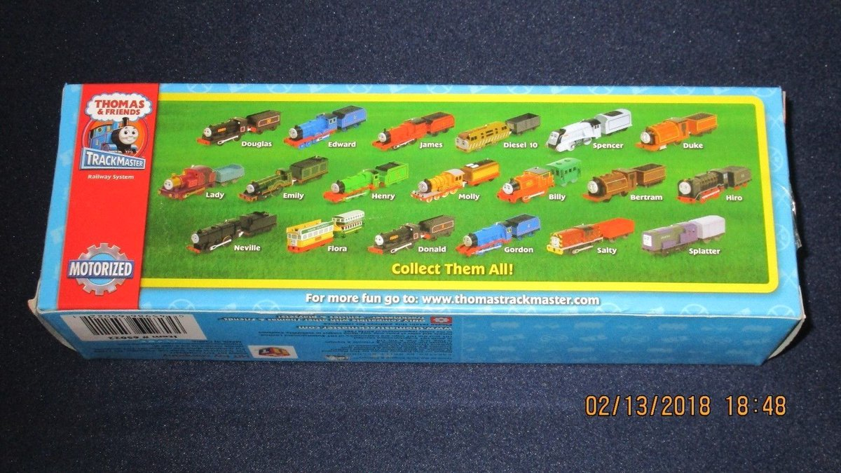 Fred Pelhay On Twitter A Lot Of These Trackmaster Big