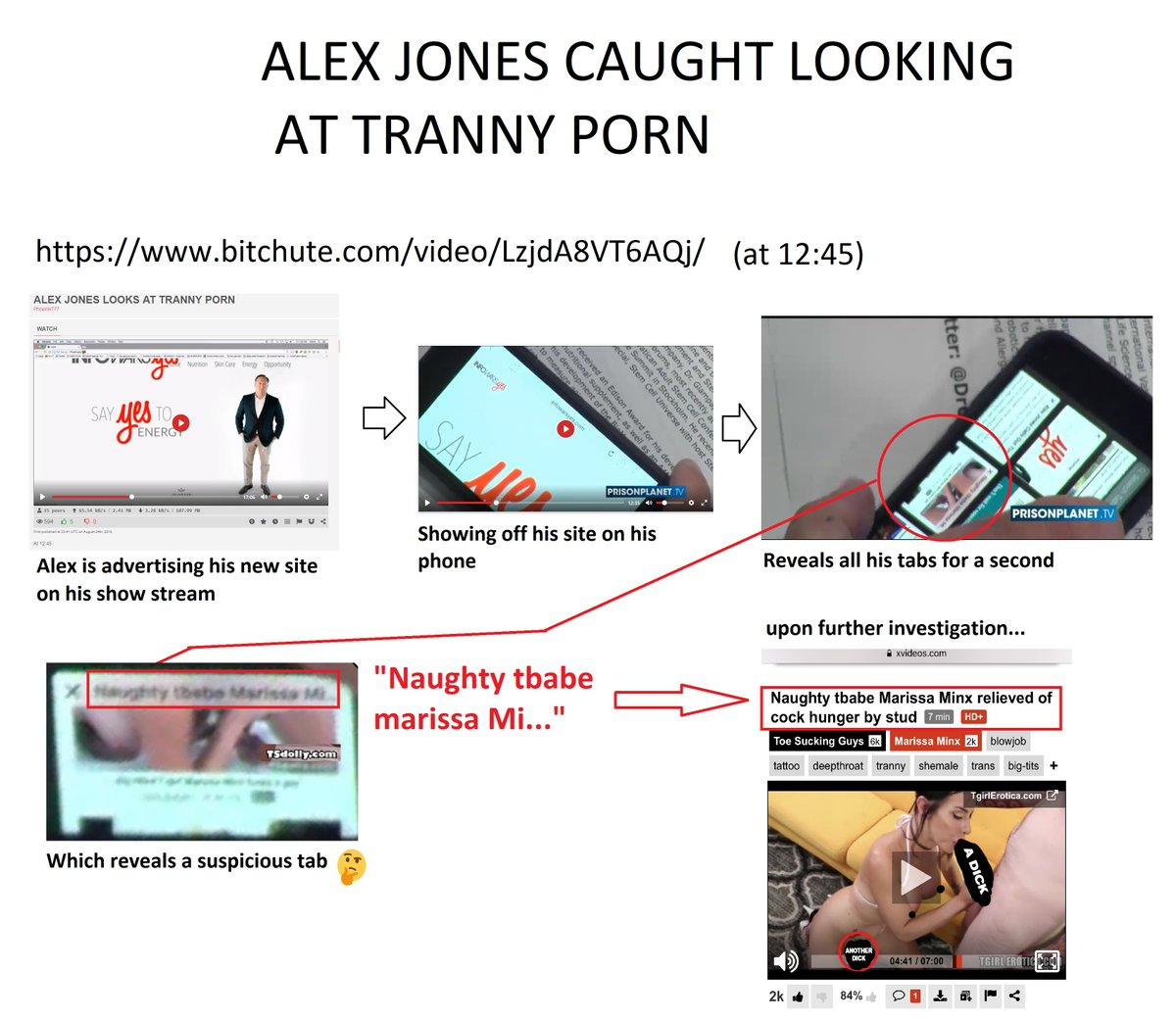 Alex Jones Porn Pics alex jones caught looking at tranny porn   phuks!