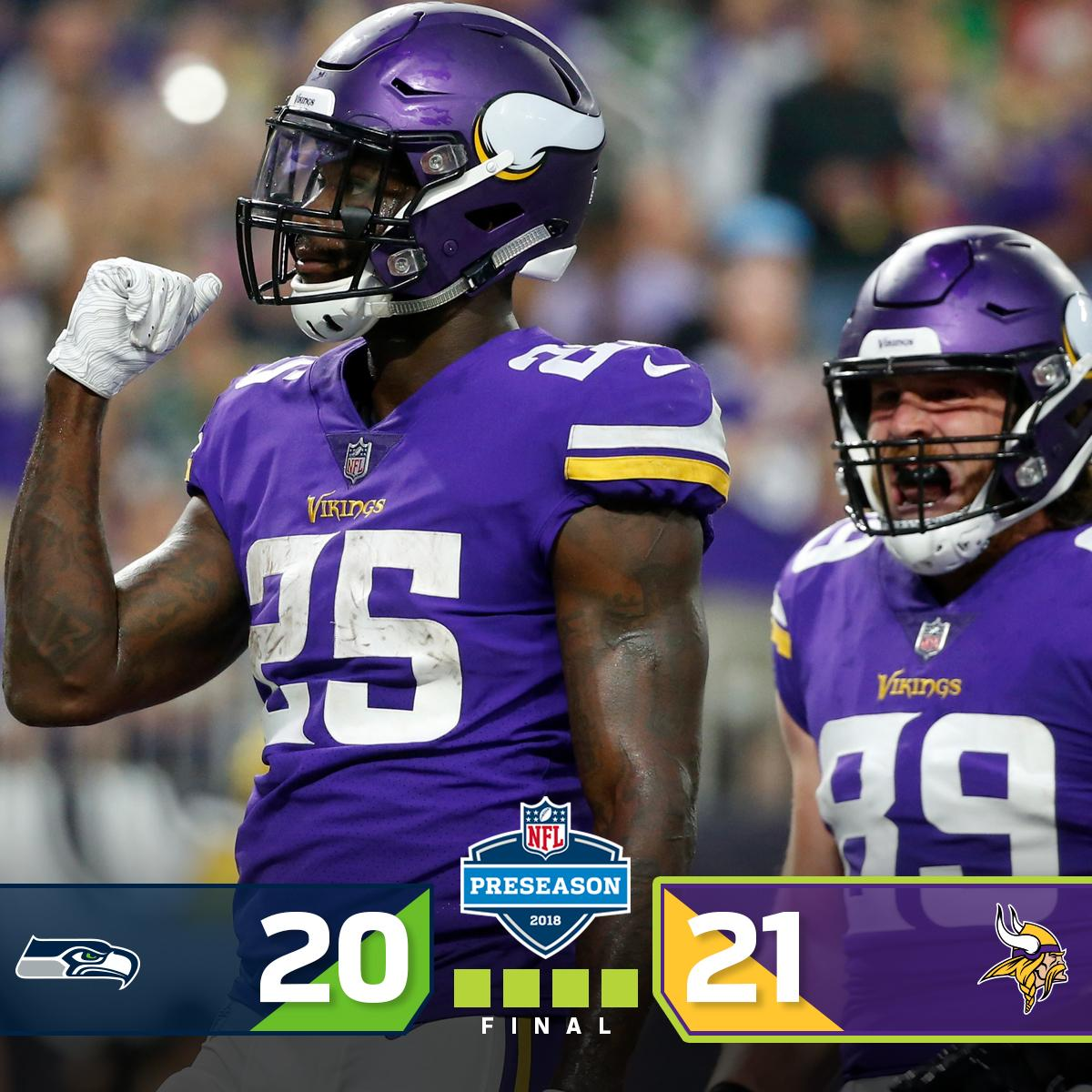 FINAL: @Vikings complete the comeback! #SEAvsMIN