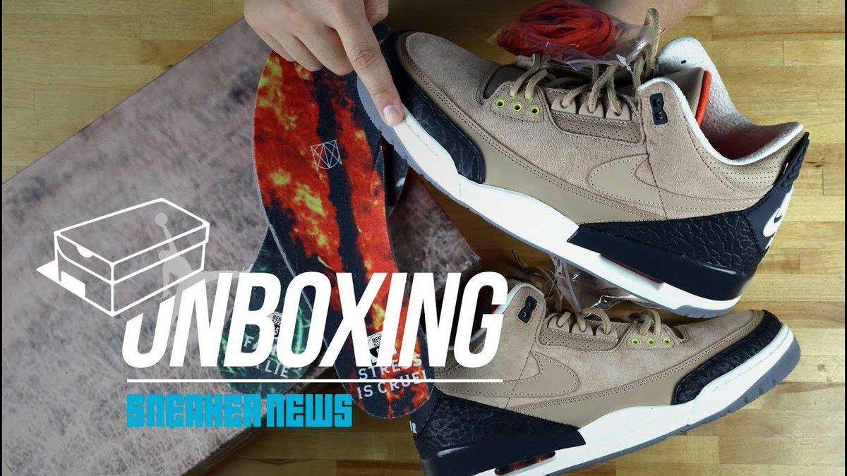 "8047147eb9ca29 (Unboxing Air Jordan 3 ""Bio Beige"") - http   slapside"