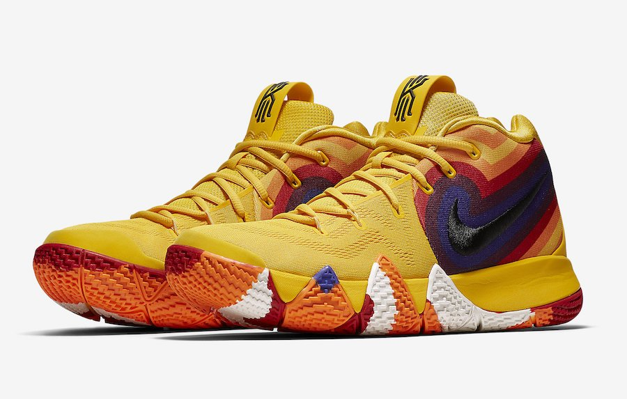bd5c3f17efd2  ReleaseDate Nike Kyrie 4  70s  will be available via  footlocker today at  10AM EST!