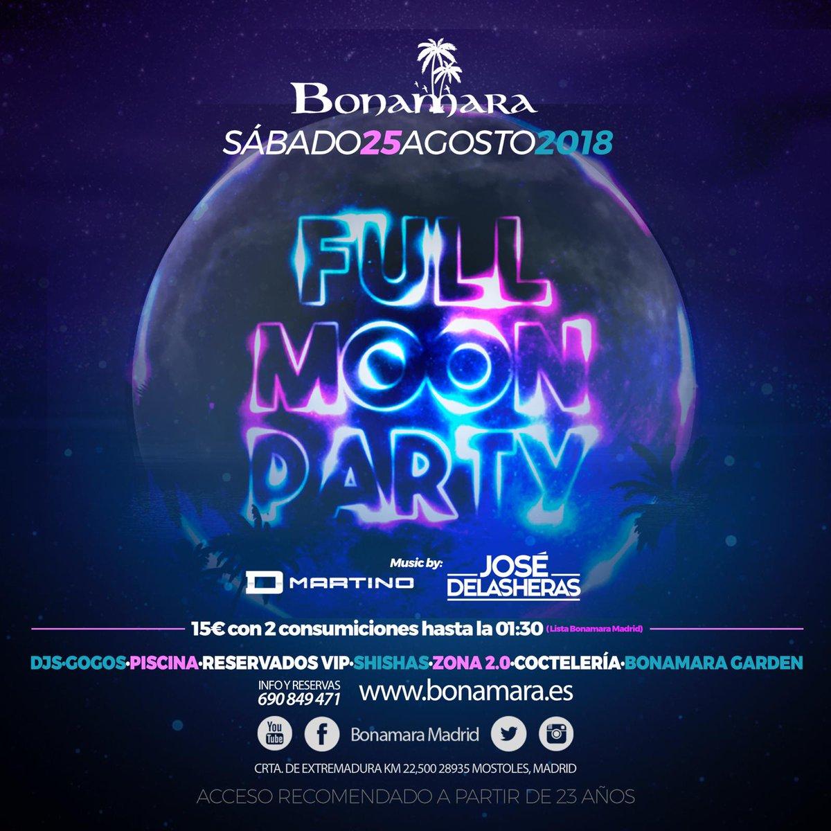 Bonamara Madrid On Twitter Esta Noche Hay Luna Llena Y En