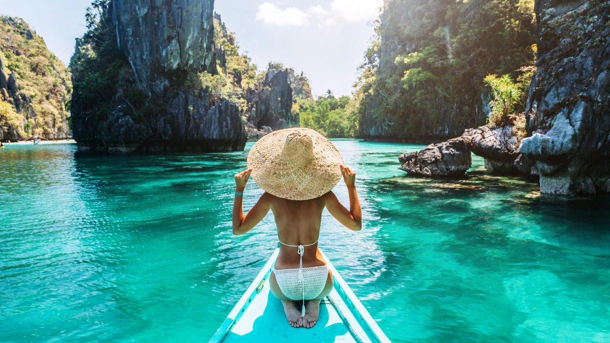 来月は念願のパラワン島へ!フィリピンといえばセブ島ですが、映画の撮影地として使われたりとこっちの方が綺麗なんです!