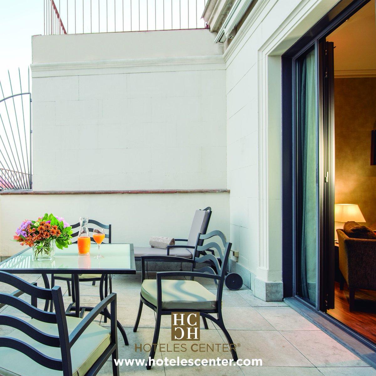 Hoteles Center On Twitter Habitaciones Con Terraza En El