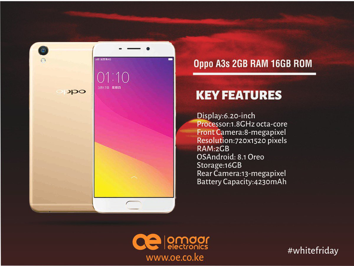 Omaar Marketplace On Twitter Oppo A3s Is The Latest Entrant Into Ram 2gb Family Because You Are Looking For Best Phone At Cheapest Price