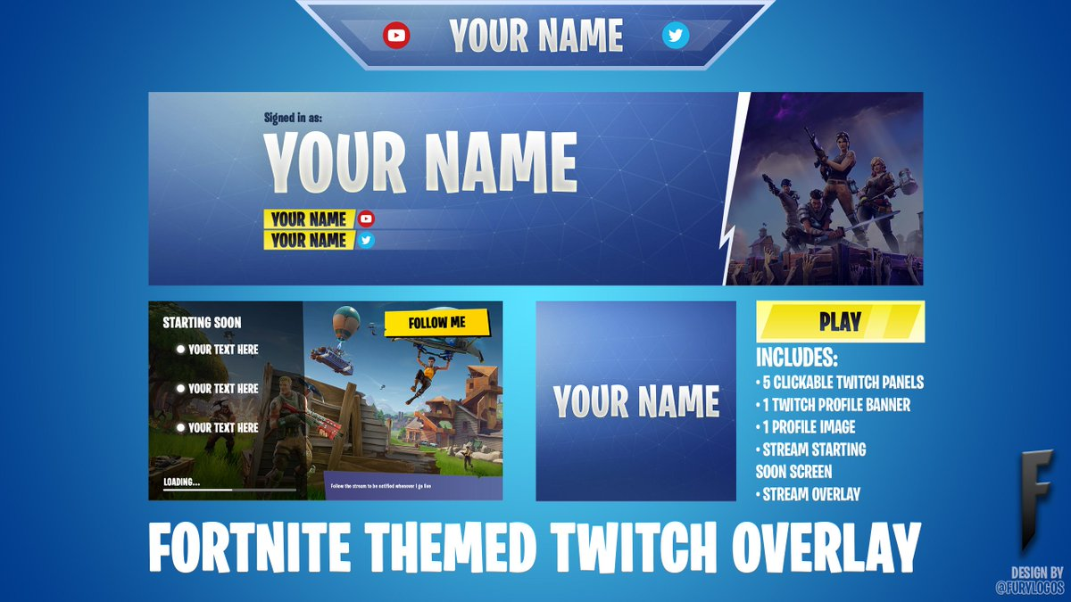 Fortnite Overlay Twitch