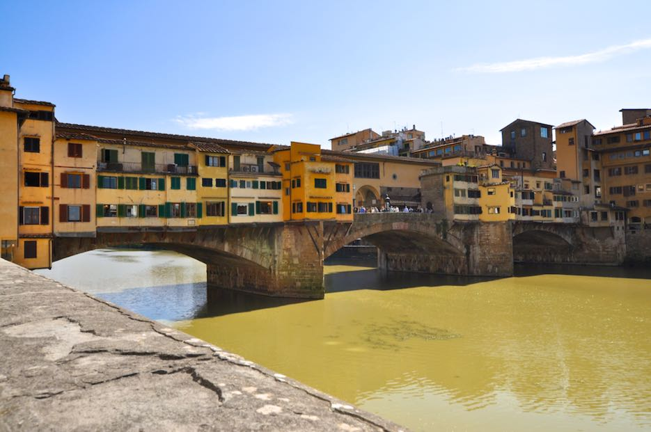 Because Butchers And Tanners Polluted The River Arno, Cosimos I. Deu0027 Medici  Ordered That Only Goldsmiths Were Allowed To Live Here. There Are Still  Numerous ...