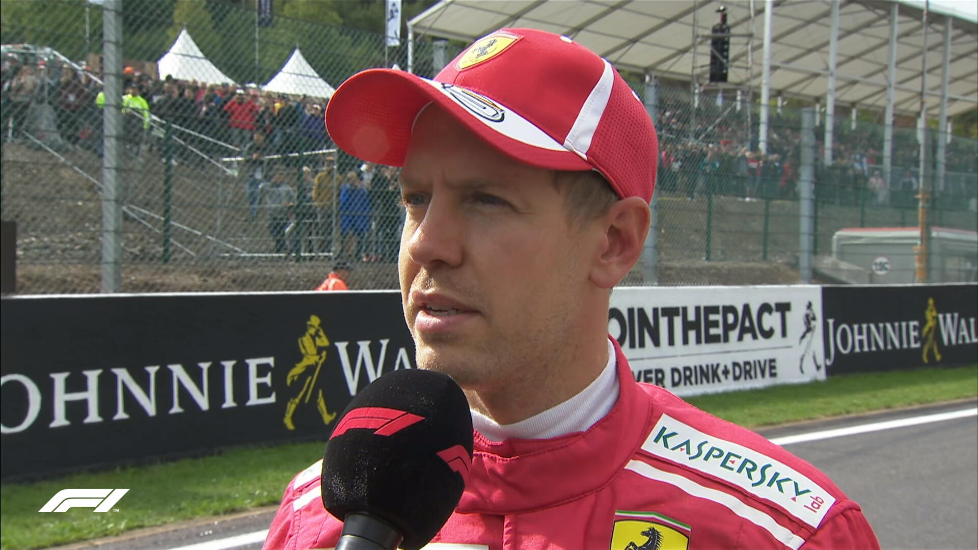 GP Belgio Vettel