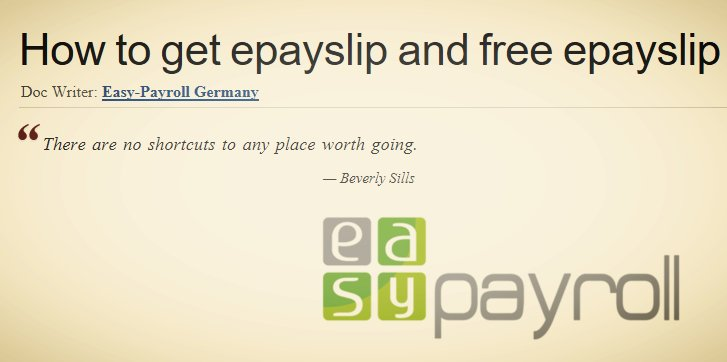 Easy-Payroll Germany ⚜ on Twitter: