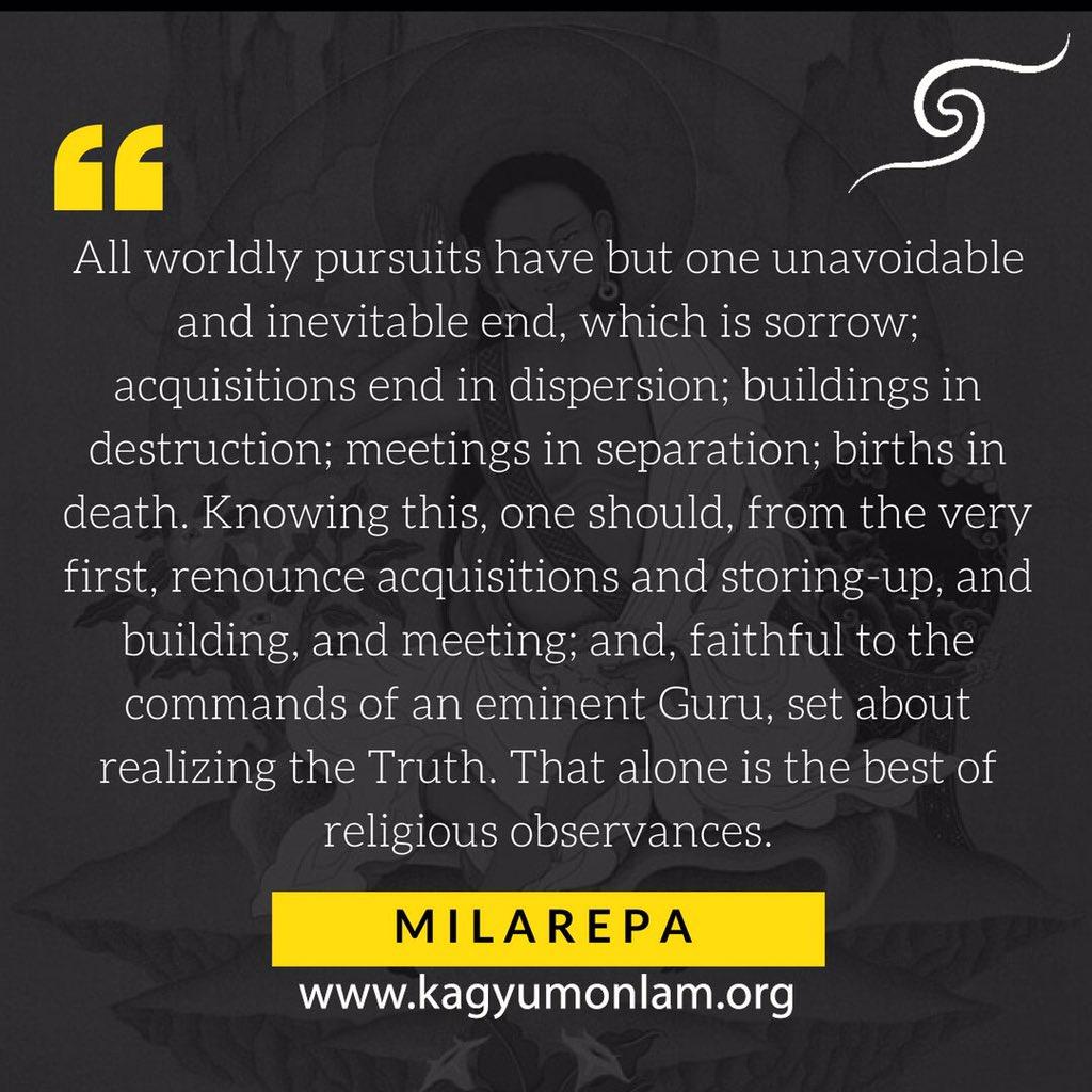 kalachakra on quotes of milarepa the great yogi of